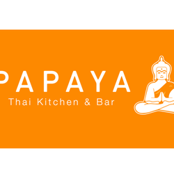 Thai Kitchen Logo papaya thai kitchen & bar - thai - observatoriegata 25, vika, oslo