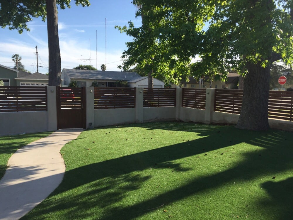 Horizontal Semi Privacy Vinyl Fence Yelp