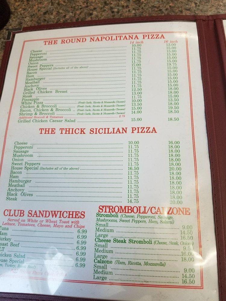 Schiano's Italian Restaurant and Pizzeria: 112 W Market St, Berrysburg, PA