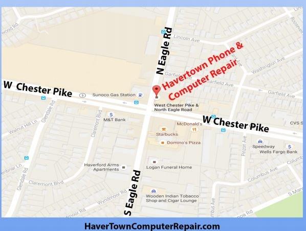 Havertown Phone and Computer Repair: 11 N Eagle Rd, Havertown, PA