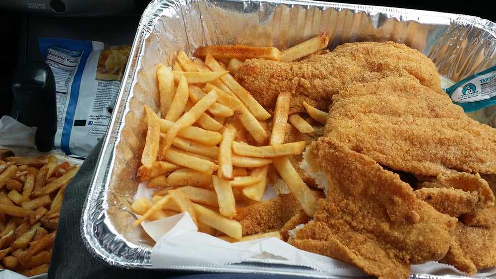 These guys know catfish 6pc catfish family fries yelp for Sharks fish and chicken locations