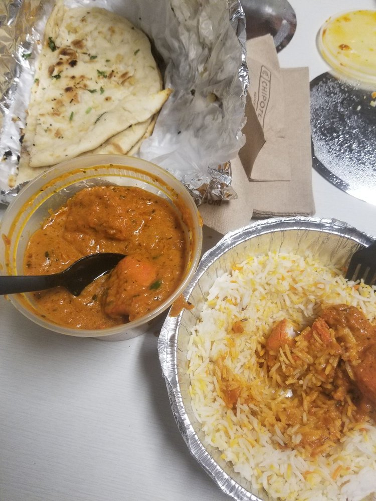 Food from The Royal Indian Bar & Grill