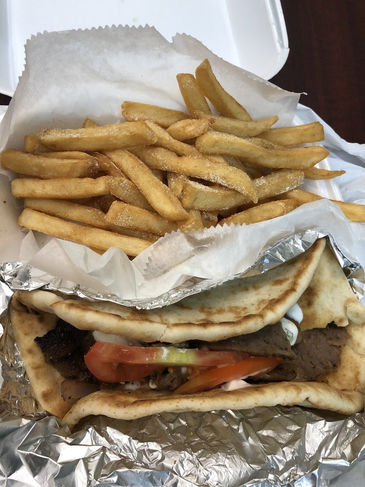 Food from Journey Fish Chicken Gyros