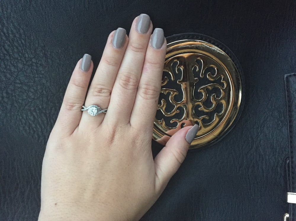 Gel Manicure | Coffin Shape | Natural Nails | Color:Utaupia | Nail ...