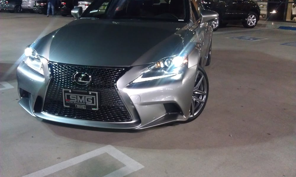 Grey With Red Interior 2015 Lexus Is350 F Sport Leased Out By Us At Smg Yelp