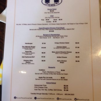 Cafe Leona Restaurant Menu