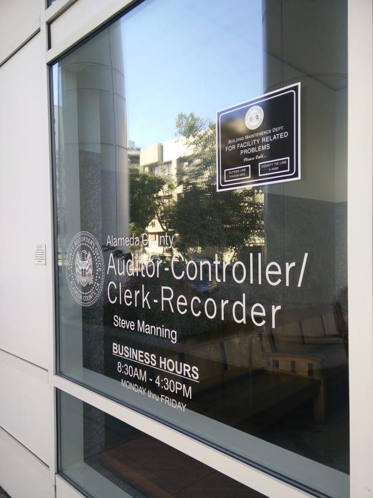 Alameda County Recorder Information California - Deeds.com
