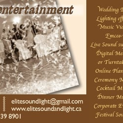 Elite Sound And Light Entertainment Party Event Planning