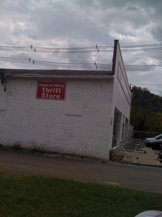 Haven of Mercy Thrift Outlet: 218 N Broadway St, Johnson City, TN
