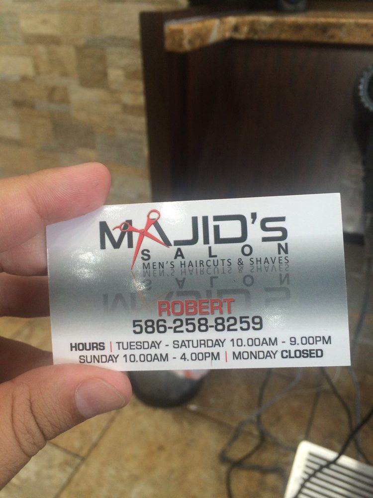 Majid's Hair Salon: 4167 15 Mile Rd, Sterling Heights, MI