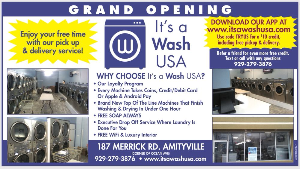 It's a Wash Usa: 187 Merrick Rd, Amityville ny, NY