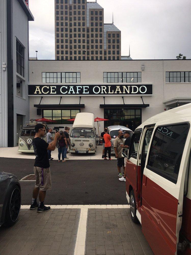 Ace Cafe  W Livingston St Orlando Fl