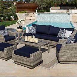 Photo Of Guys Upholstery   Virginia Beach, VA, United States.  Reupholstering Outdoor Furniture