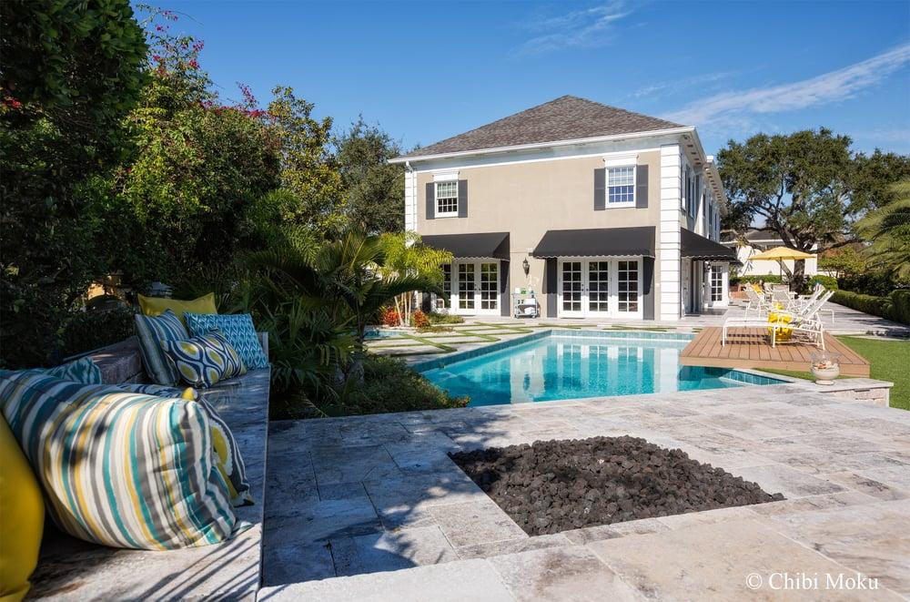 Landscape Fusion Outdoor Living Pool Remodel Composite