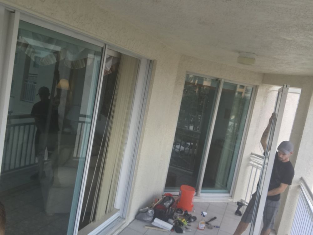 Sliding Glass Door Repairs Yelp