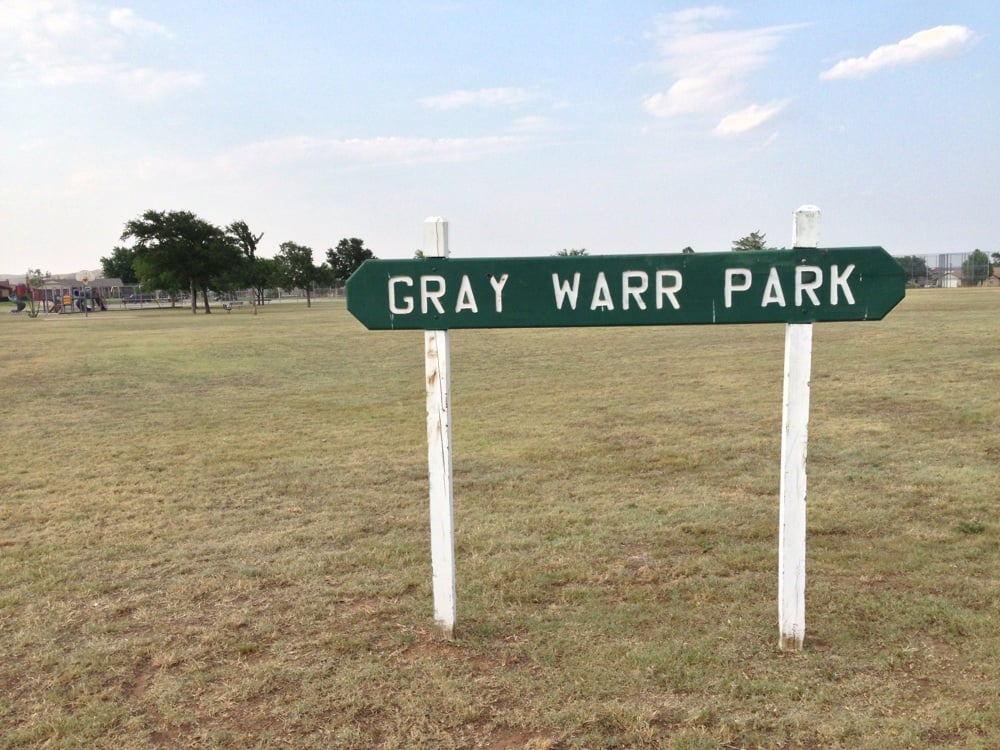 Gray Warr Park: NW Andrews Ave, Lawton, OK