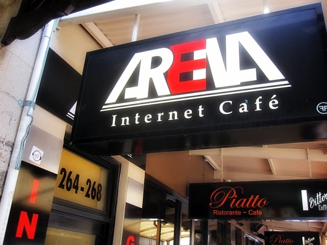 Arena Internet Cafe Adelaide