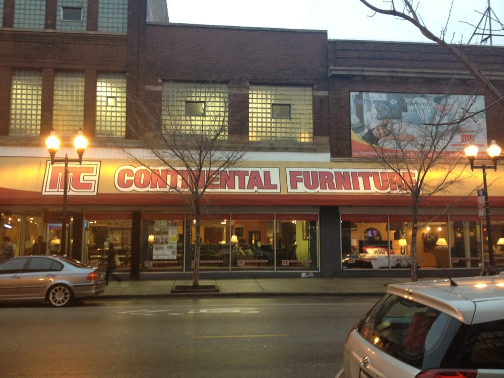 Continental Furniture Furniture Stores 1425 N Milwaukee Ave Wicker Park Chicago Il