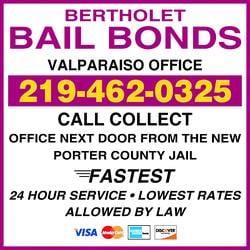 Bertholet Bail Bonds: 2801 Bertholet Blvd, Valparaiso, IN