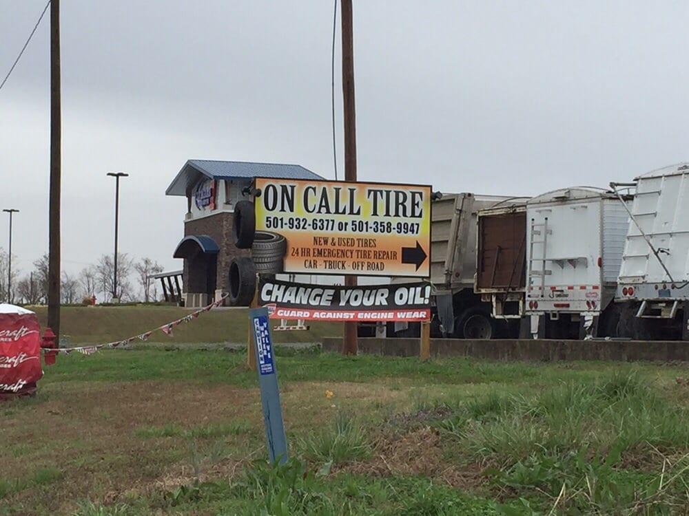 On Call Tire: 18 Sublett Cir, Mayflower, AR