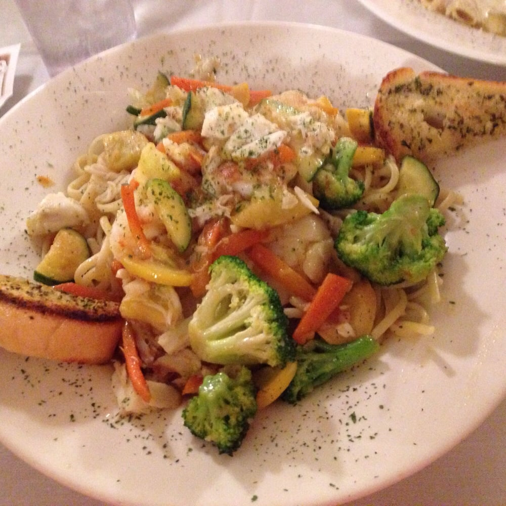 Edgewood Md Read Consumer Reviews Browse: Shrimp And Scallops Over Linguine. The Wine Sauce Was A