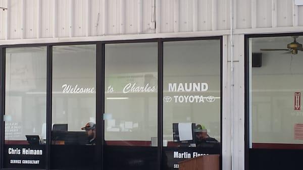 Charles Maund Toyota 8400 Research Blvd Austin, TX Auto Repair   MapQuest