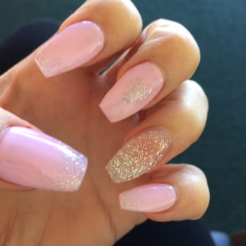 Acrylic Nails Designs With Diamonds