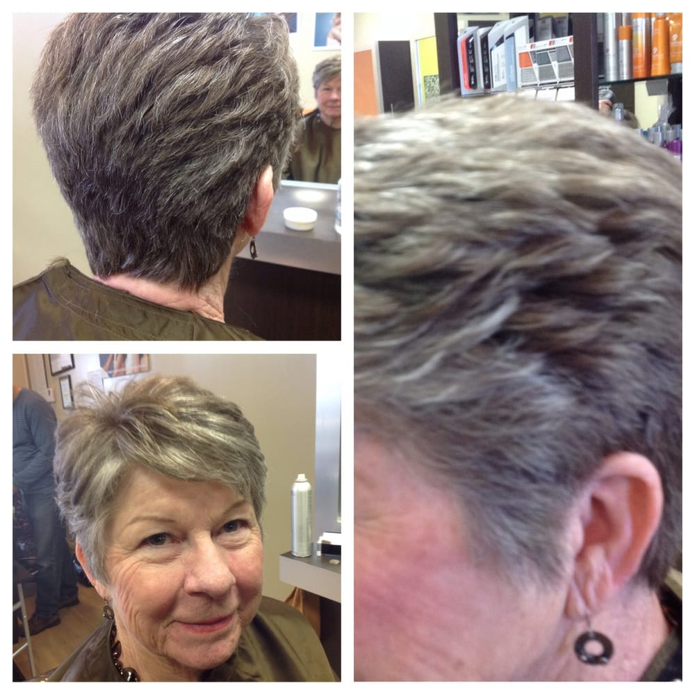 Short Tapered Womens Haircut Yelp