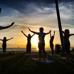 Photo Of Beach Sunset Yoga La Jolla Ca United States