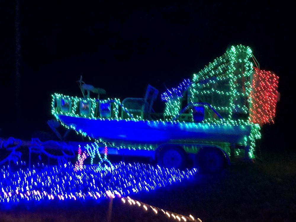 Candy Cane Lane Drive Thru Christmas Light Park: 170 LA-151, Calhoun, LA
