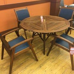 Woodard Outdoor Furniture. Photo Of Enzanos   Santa Fe, NM, United States.  IPE Wood Furniture From ...