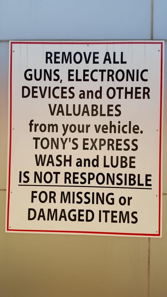 Tony S Express Wash Amp Lube 10 Photos Amp 11 Reviews Car