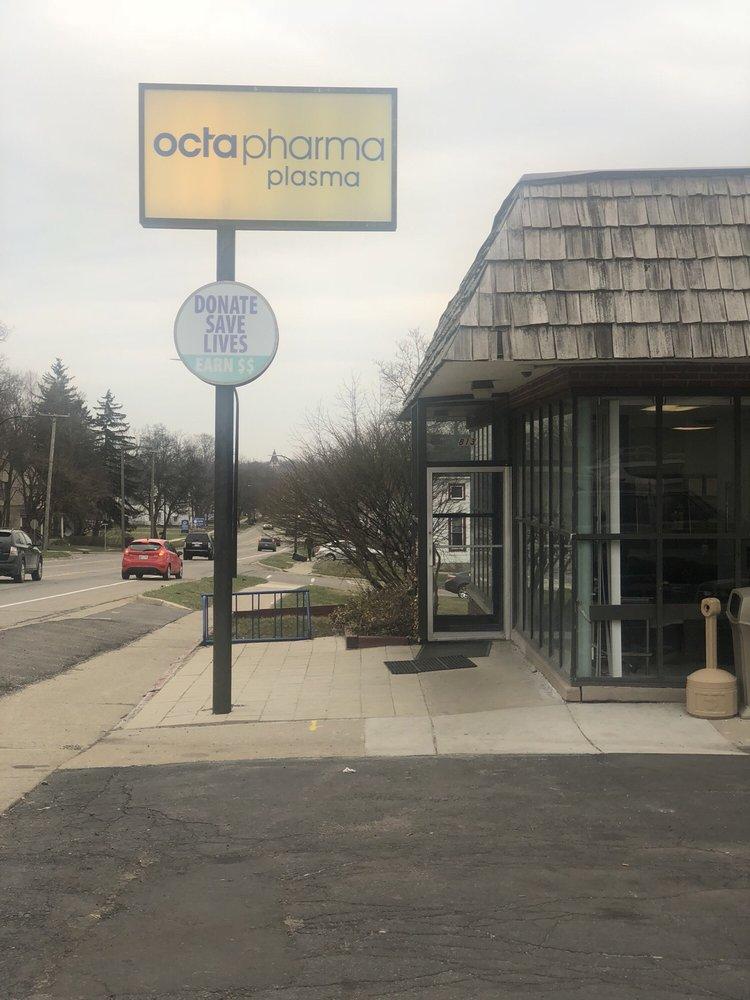 Octapharma Plasma: 813 W Michigan Ave, Ypsilanti, MI