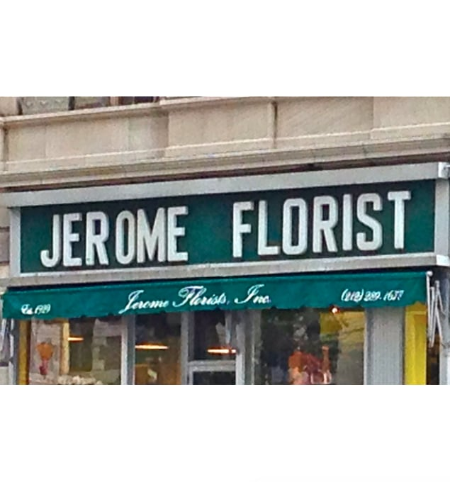 Jerome Florist: 1379 Madison Ave, New York, NY