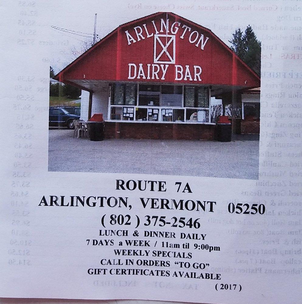 Snow's Dairy Bar: 3158 Vt Rte 7A, Arlington, VT