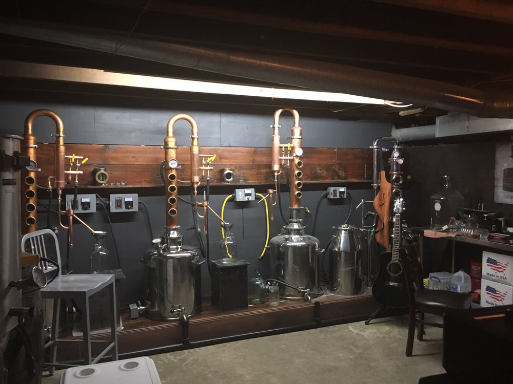Canal Spirits Craft Distillery: 103 Canal St S, Canal Fulton, OH