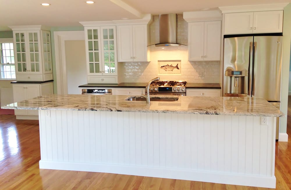 Beautiful White Kitchens With Granite beautiful white kitchen cabinets and granite countertops on cape