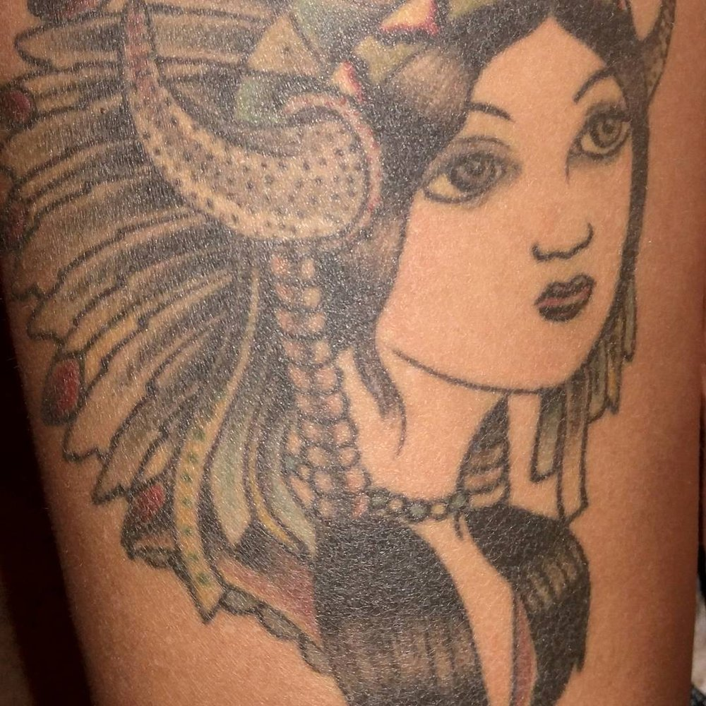 My First Tattoo By Jason Brunson 7 Years Ago, He Will Be