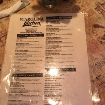 Carolina Kitchen Maryland Review