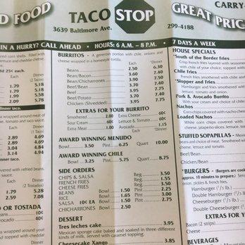 Taco stop pueblo co