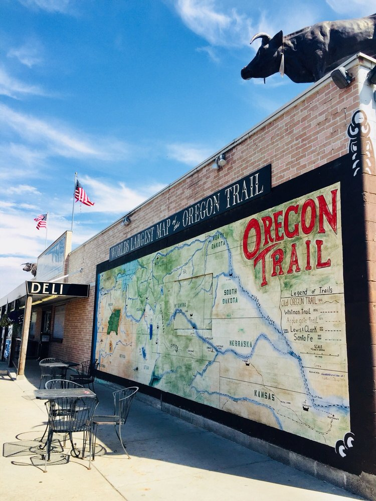 York's Covered Wagon: 1549 Campbell St, Baker City, OR