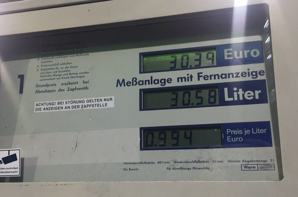 Diesel unter € 1,00 / Liter - Yelp