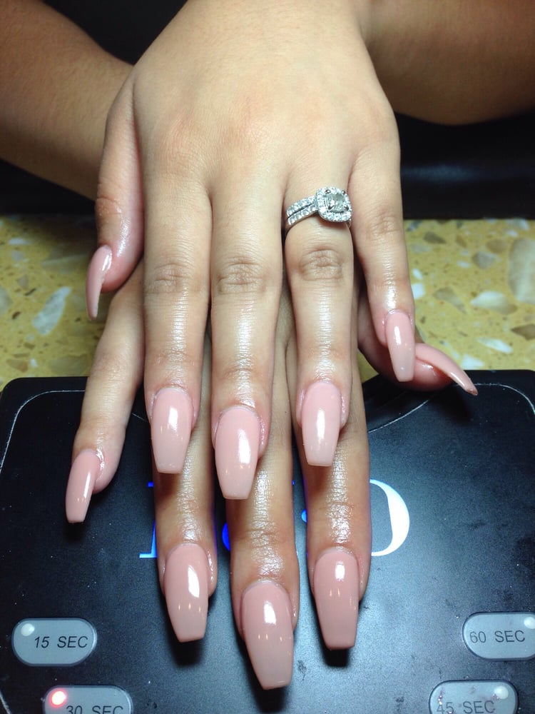 Natural gel color from Caroline nail!!!!!!! - Yelp