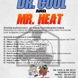 Photo Of Dr Cool Mr Heat Senatobia Ms United States