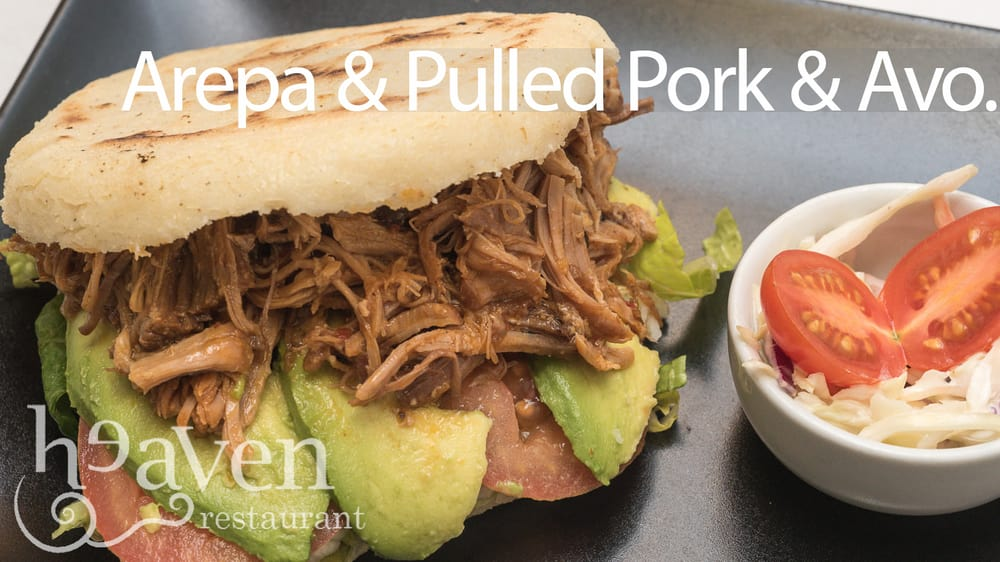 Pulled pork arepa a favourite yelp for Artisan indian cuisine