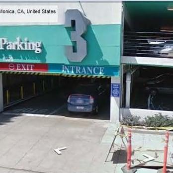 City Of Santa Monica Public Parking Lot 3 Parking 1320 4th St