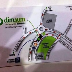 mapa coordenadas gps portugal Restaurante Dim Sum   Chinese   Rua Coro De Santo Amaro De Oeiras  mapa coordenadas gps portugal