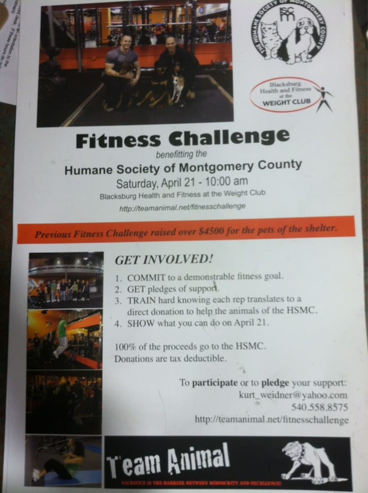 Social Spots from Blacksburg Health and Fitness at the Weight Club