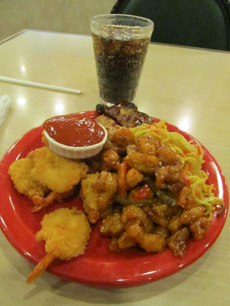 Shrimp And Orange Chicken Yelp