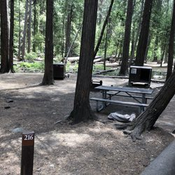 Campgrounds in yosemite with hookups clothing